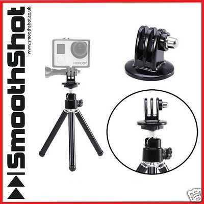Gopro Tripod Stand Holder Plus Gopro Mount Adapter For Gopro Hero 1 2 3 3+ 4