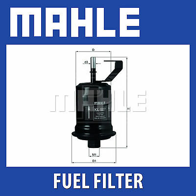 Mahle Fuel Filter KL507 - Fits Toyota Avensis - Genuine Part