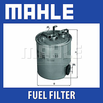 Mahle Fuel Filter KL188 - Fits Jeep Grand Cherokee 2.7Crd - Genuine Part