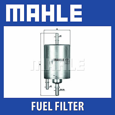 Mahle Fuel Filter KL571 - Fits Audi A4,A6, A8 - Genuine Part