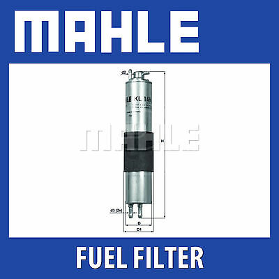 Mahle Fuel Filter KL149 - Fits BMW 3 Series - Genuine Part