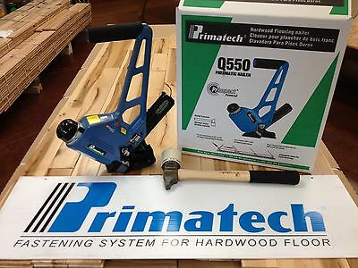 SALE! Primatech Q550L Pneumatic Adjustable Flooring Nailer & Mallet FREE SHIP!