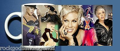 PINK P!NK -  Photo collage New  Design #2 - Coffee Mug Boxed