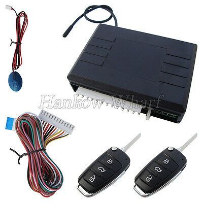 Universal Car Keyless Entry System With Code Learning Button And LED Indicator