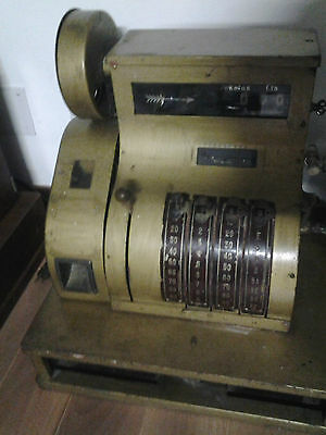 Caja Registradora 1930-1940 National Pesetas - Cash Register 1930's-1940's Spain