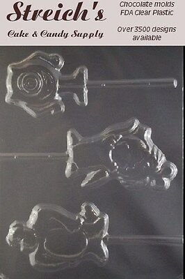 Monsters Inc. Chocolate Lollipop Candy Mold