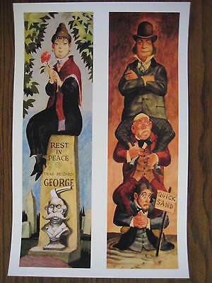 B2G1F 1/&2 Collector/'s Print Haunted Mansion stretching Room Vintage Disney