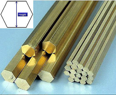1pcs Brass Hexagon Bar Rod Height 6 8 10 12 15 20 25 30 32 40 50mm,L= 200mm #N46