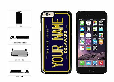 Personalized Custom Delaware License Plate Plastic Case For iPhone 6 (4.7 In)