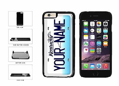Personalized Custom Kentucky License Plate Plastic Case For iPhone 6 (4.7 In)