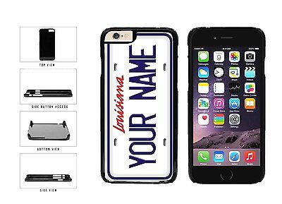 Personalized Custom Louisiana License Plate Plastic Case For iPhone 6 (4.7 In)