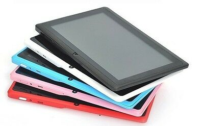 """Multi-color 7"""" Android 4.4 4GB/8GB Tablet PC A23 Dual Core Dual Camera USA STOCK"""