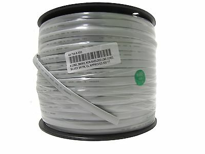 8 Conductor 26AWG non-shielded Silver Satin Line Cord UL-Rated 500ft