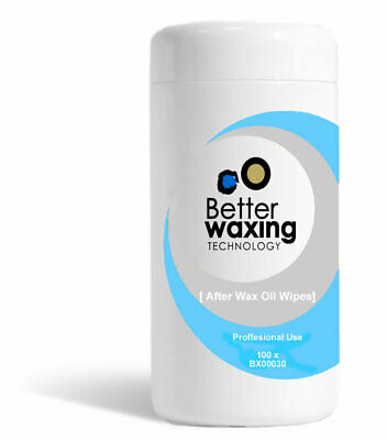 Better Waxing Oil After Wax Wipes 100pk