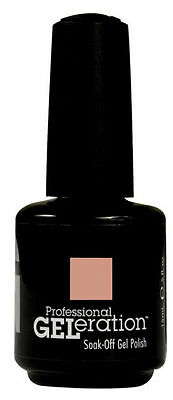 Jessica Geleration UV Gel Polish CREAMY CARAMEL - .5 fl oz GEL436