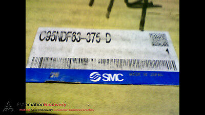 Smc C95Ndf63-375-D Pneumatic Tie-Rod Cylinder, New #169418