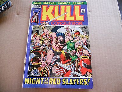 Vintage Kull The Conquerer Comic Book No. 4 Sept Night of the Red Slayers Good+