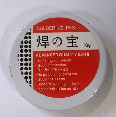 2 x Soldering Paste - Flux 10g - High intensity