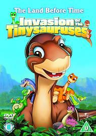 The Land Before Time - 11 - Invasion Of The Tinysauruses Dvd New Factory Sealed
