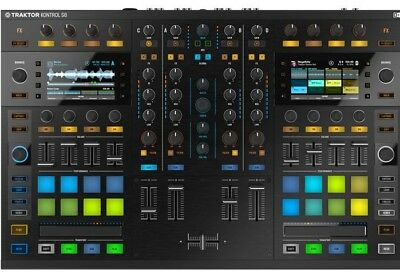 Native Instruments Traktor Kontrol S8 - NI 4 Channel Pro DJ Controller w/Screens