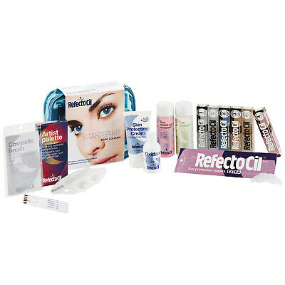 Refectocil Starter Kit Basic Colours All-In-One Complete Eyelash Eyebrow Colours