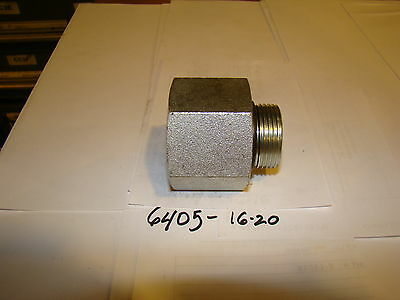Hydraulic fitting O-ring to female pipe #6405-16-20