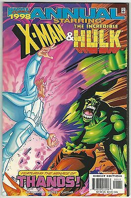 1989 Annual X-Men & Incredible Hulk