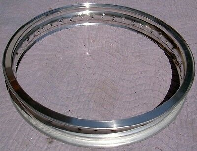 WM3 2.15 X 18 -36 hole Akront/Italian style flanged alloy vintage motorcycle rim