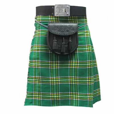 Tartanista Irish Plaid/Tartan 5 Yard 10 oz KILT (Formal & Everyday) 30-50
