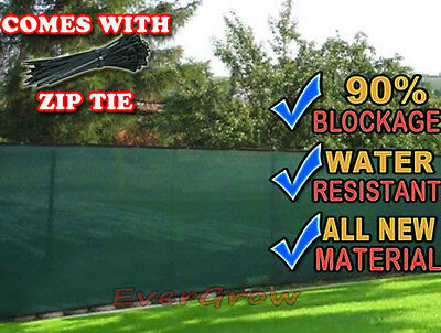 Privacy Screen Fence Mesh Windscreen Outdoor Backyard Fencing Privacy 2015