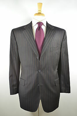 Jack Victor Collection Loro Piana Super 120's Viking 3/2 Roll Suit 42 R