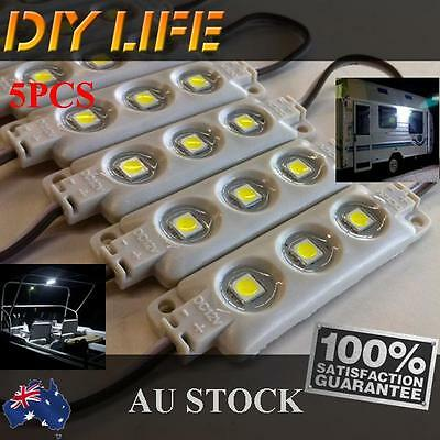 Waterproof 12V LED Strip Module Light Cool white Camping Boat Caravan Car IP66