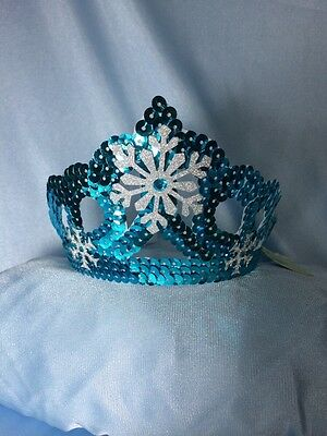 Elsa Frozen inspired Crown With  Snowflakes Disney Princess