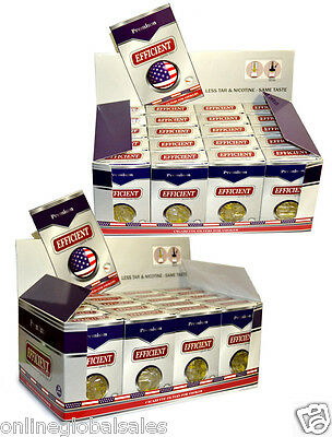 40 Packs EFFICIENT Cigarette Filters 1200 Filters Block & Filter Out Tar & Nic