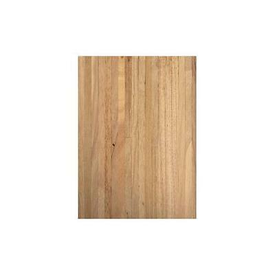 Real Wood Natural Light Wood Dolls House Flooring 450x285mm Sheet