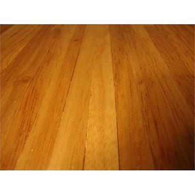 Real Wood Stained Light Wood Dolls House Flooring 450mmx285mm Sheet