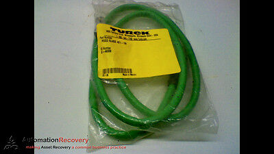Turck Rssd Rj45S 421-1M Cable 4Pole M/st To Ethernet End 1M, New #170700