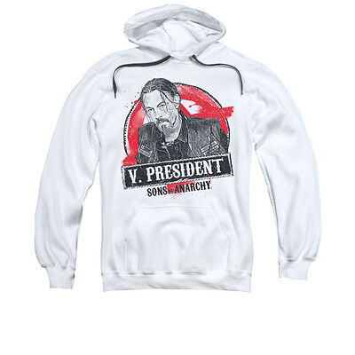 SONS OF ANARCHY VICE PRESIDENT CHIBS Pullover Hooded Sweatshirt Hoodie SM-3XL