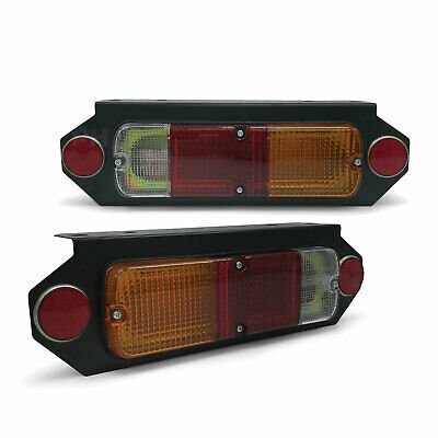 Toyota Hilux Tray Back Tail Lights With Bracket PAIR LH+RH Brand New
