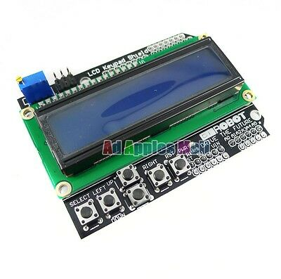 Keypad Shield LCD1602 Character LCD Input And Output Expansion Board For Arduino
