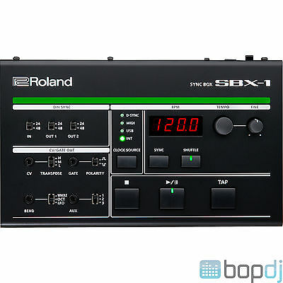 Roland SBX-1 Multi-format Sync Box for Computers and Electronic Instruments SBX1