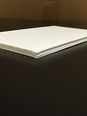4mm White 24 x 36 (4 pack) Corrugated Plastic Coroplast Sheets Sign