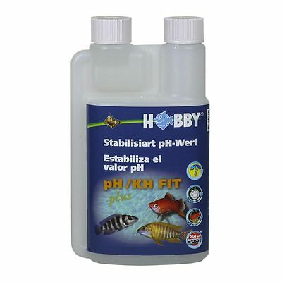 Hobby ph/KH-Fit Plus - 250 ml - Carbonate de Dureté de l'eau épurateur Additif