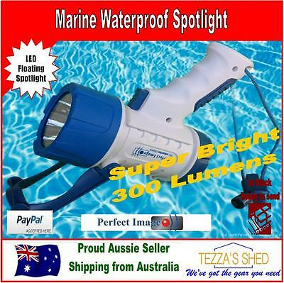 300 LUMEN Perfect Image FLOATING WATERPROOF LED SPOTLIGHT Marine Hunting fishing
