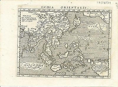 Antique map, India Orientalis