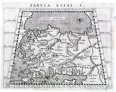 Antique map, Tabula Asiae I