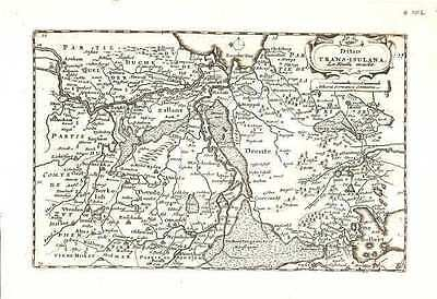 Antique map, Ditio Trans-isulana
