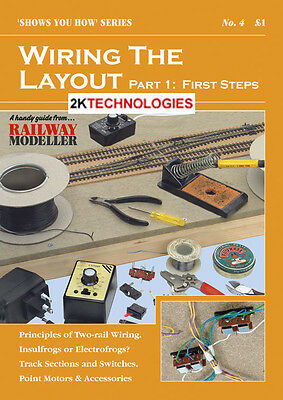 Peco SYH 4 The Railway Modeller Book Wiring The Layout Part 1 New 16 pge Booklet