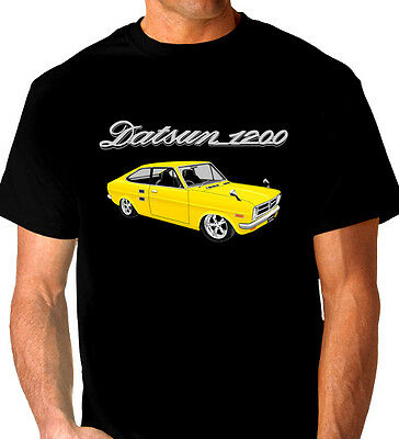 Datsun  1200   Coupe    Black  T-Shirt   Men's  Ladies  Kid's  Sizes
