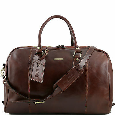 TUSCANY LEATHER reiseledertasche made in Italy